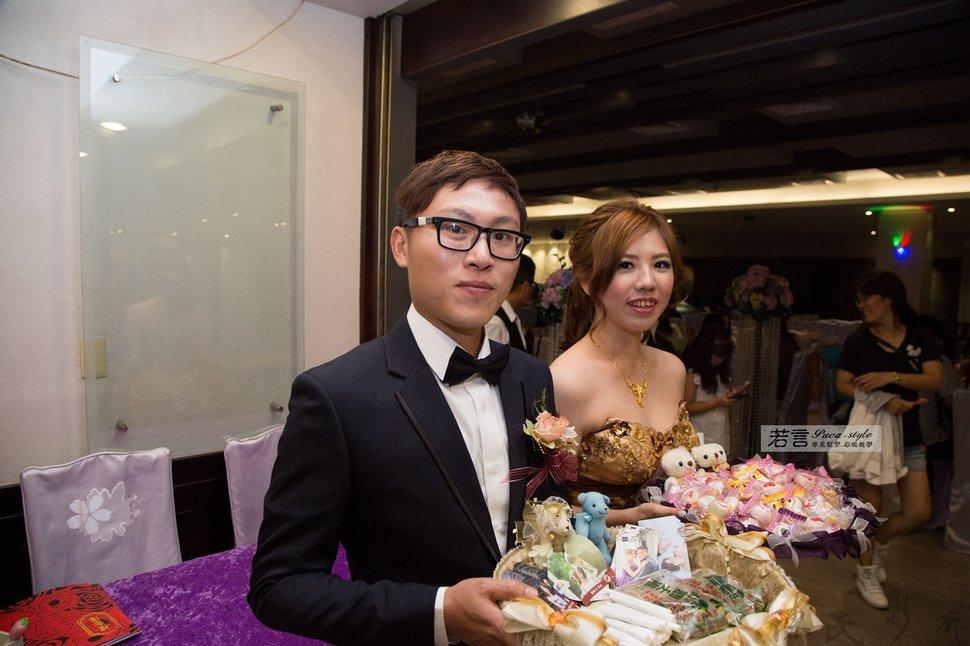 (編號:193378) - 若言新娘秘書韓式妝髮 - 結婚吧一站式婚禮服務平台