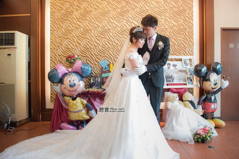 (編號:194496) - 若言新娘秘書韓式妝髮 - 結婚吧一站式婚禮服務平台