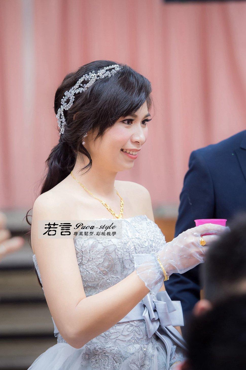 (編號:194507) - 若言新娘秘書韓式妝髮 - 結婚吧一站式婚禮服務平台
