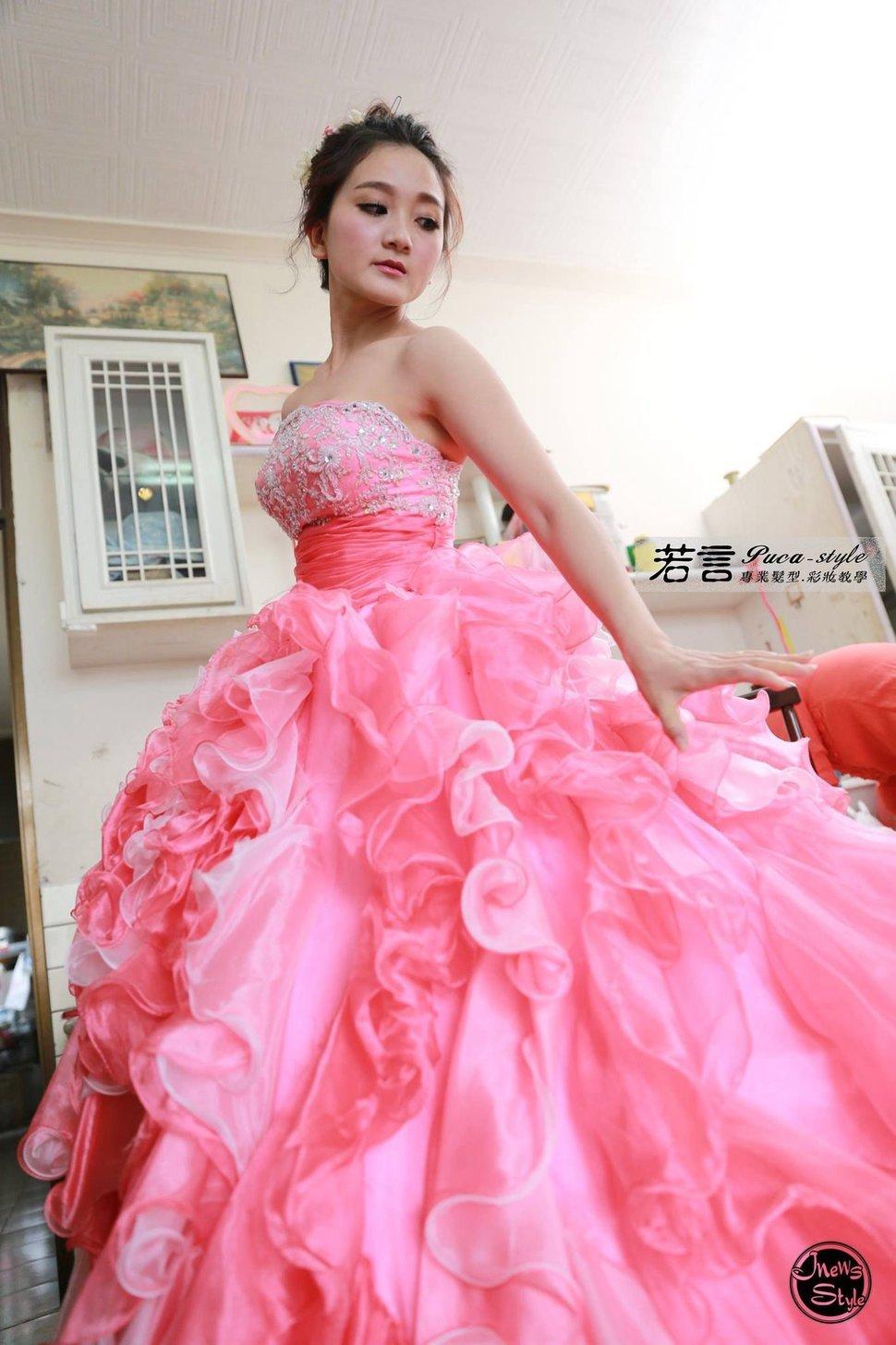 (編號:194524) - 若言新娘秘書韓式妝髮 - 結婚吧一站式婚禮服務平台