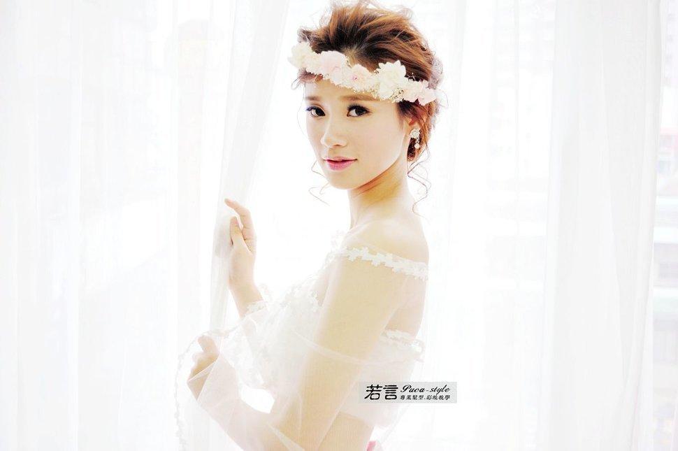 (編號:238577) - 若言新娘秘書韓式妝髮 - 結婚吧一站式婚禮服務平台