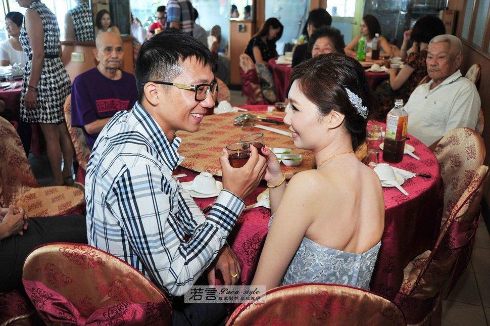 (編號:372607) - 若言新娘秘書韓式妝髮 - 結婚吧一站式婚禮服務平台