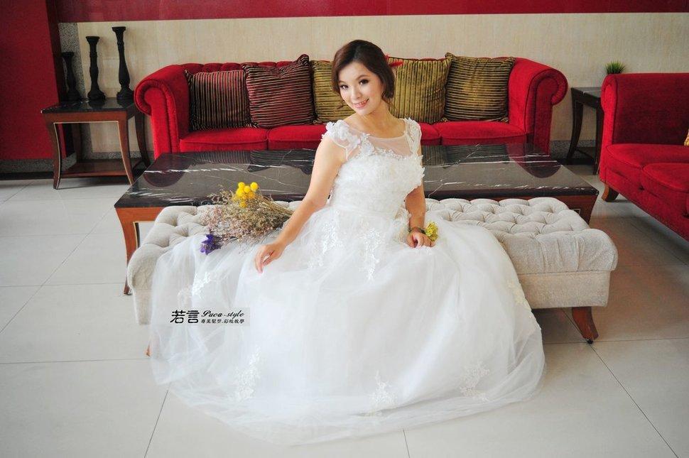 (編號:426998) - 若言新娘秘書韓式妝髮 - 結婚吧一站式婚禮服務平台