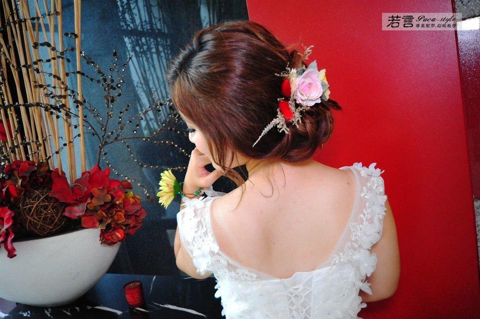 (編號:427000) - 若言新娘秘書韓式妝髮 - 結婚吧一站式婚禮服務平台