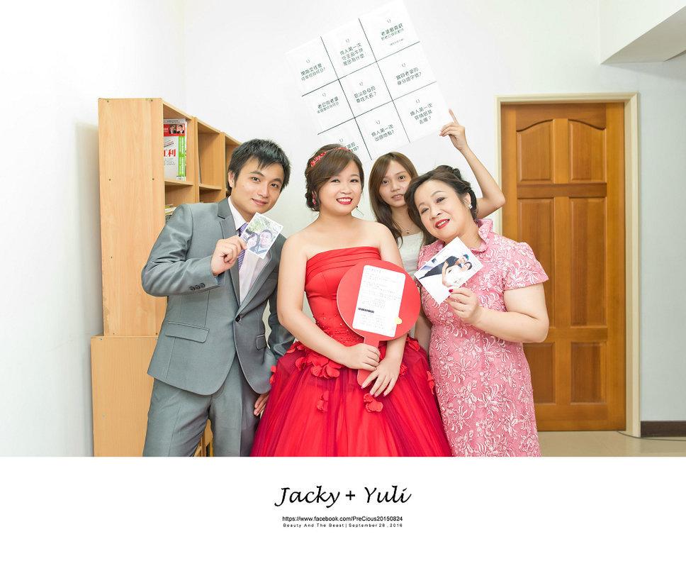 最真實的歡笑與淚水 [Jacky & Yuli 新莊新農園會館](編號:427824) - PreCious波克婚禮攝影工作室 - 結婚吧一站式婚禮服務