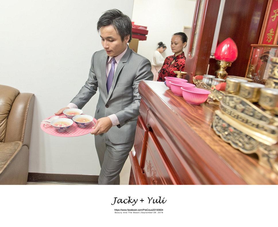 最真實的歡笑與淚水 [Jacky & Yuli 新莊新農園會館](編號:427839) - PreCious波克婚禮攝影工作室 - 結婚吧一站式婚禮服務