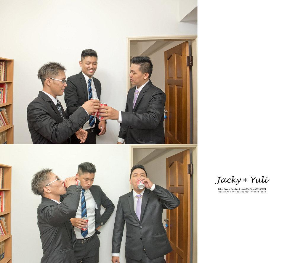 最真實的歡笑與淚水 [Jacky & Yuli 新莊新農園會館](編號:427889) - PreCious波克婚禮攝影工作室 - 結婚吧一站式婚禮服務