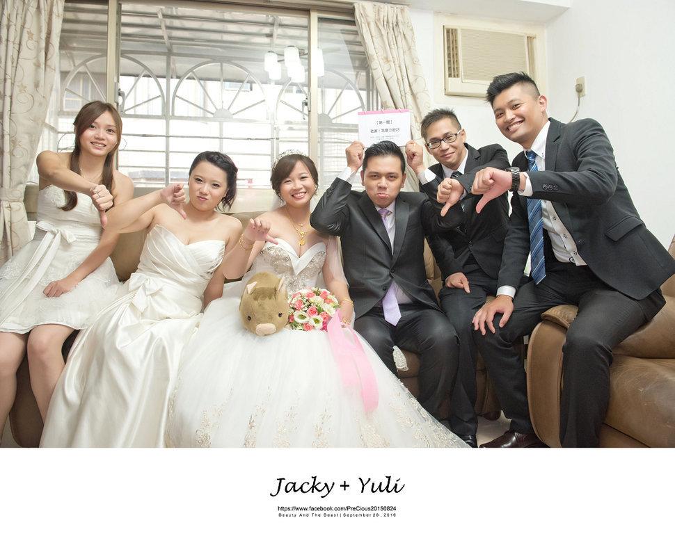 最真實的歡笑與淚水 [Jacky & Yuli 新莊新農園會館](編號:427907) - PreCious波克婚禮攝影工作室 - 結婚吧一站式婚禮服務