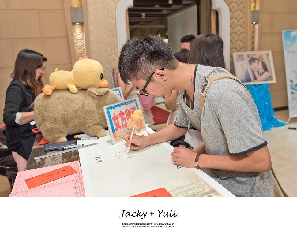 最真實的歡笑與淚水 [Jacky & Yuli 新莊新農園會館](編號:427949) - PreCious波克婚禮攝影工作室 - 結婚吧一站式婚禮服務