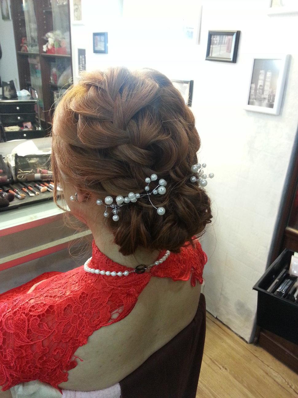 【造型作品-千堉。】(編號:428743) - 整體造形師-瑩榛 春之嫁衣 - 結婚吧一站式婚禮服務平台