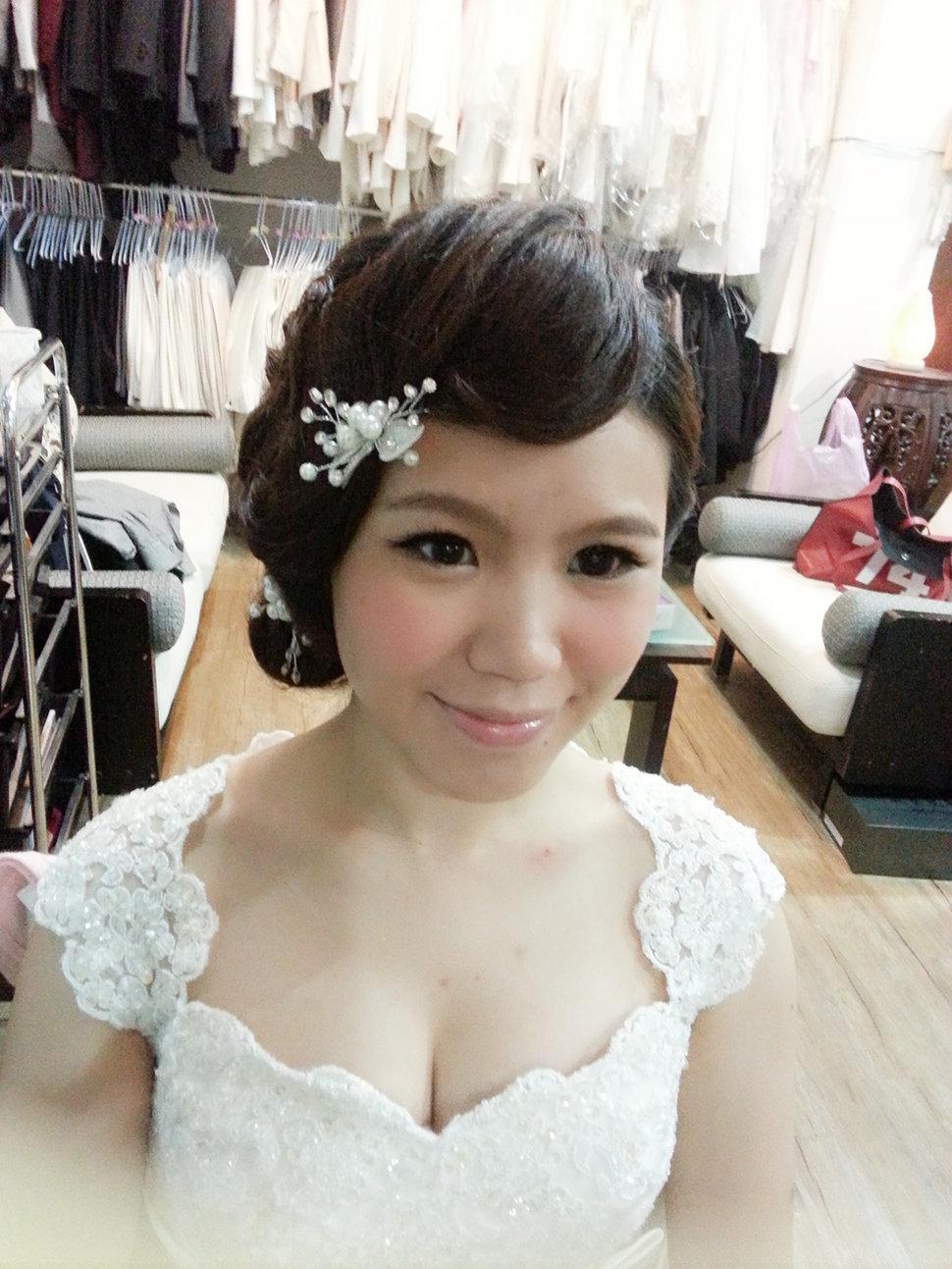 【造型作品-秀玲。】(編號:428807) - 整體造形師-瑩榛 春之嫁衣 - 結婚吧一站式婚禮服務平台