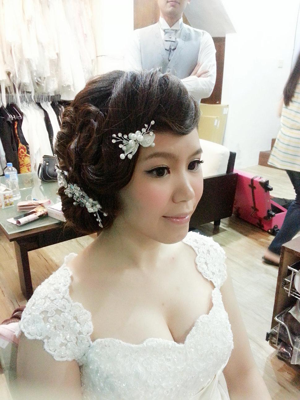【造型作品-秀玲。】(編號:428808) - 整體造形師-瑩榛 春之嫁衣 - 結婚吧一站式婚禮服務平台