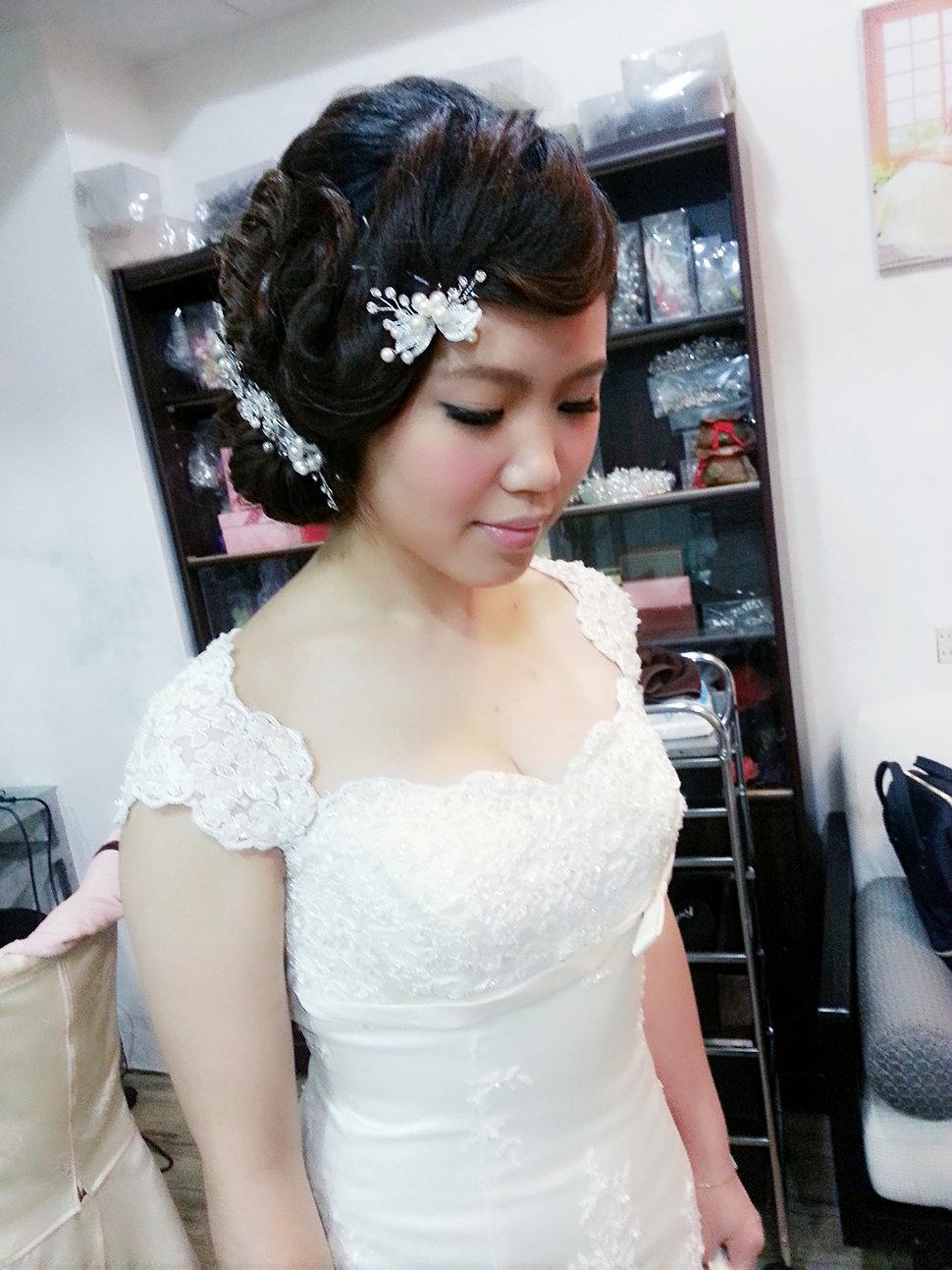 【造型作品-秀玲。】(編號:428809) - 整體造形師-瑩榛 春之嫁衣 - 結婚吧一站式婚禮服務平台
