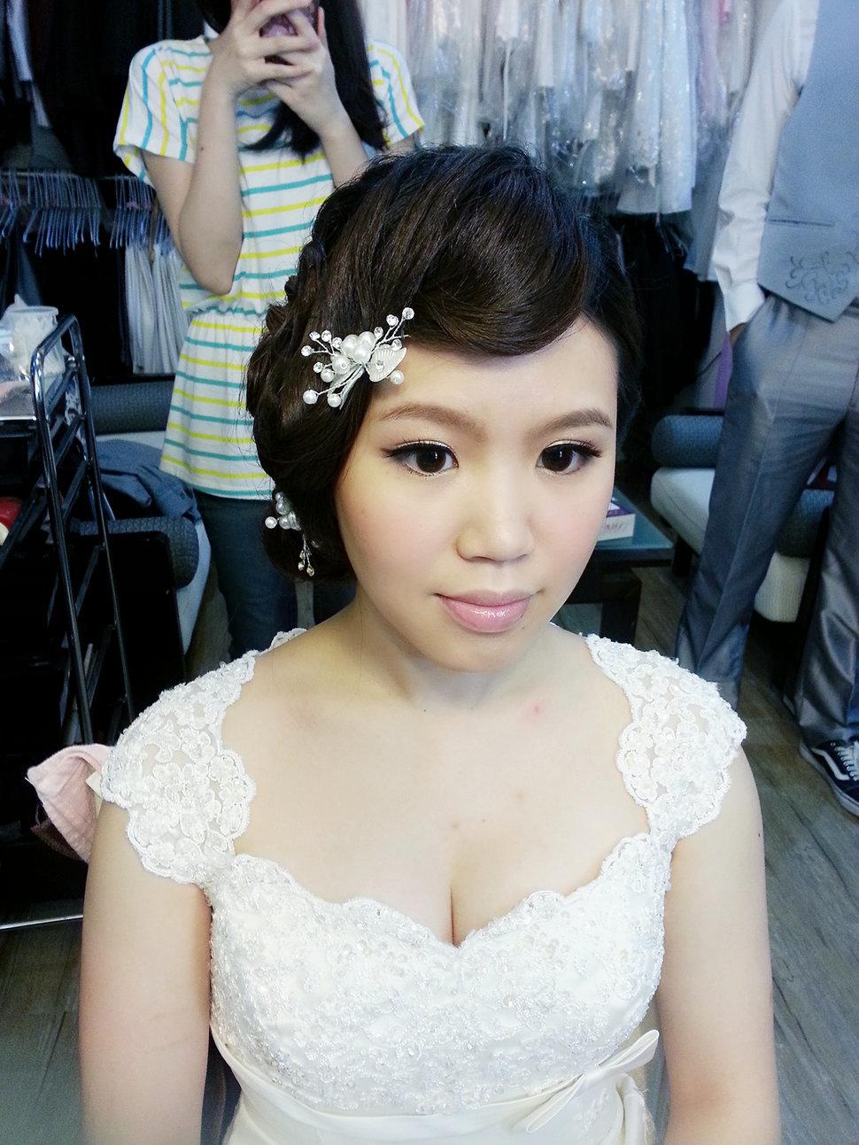 【造型作品-秀玲。】(編號:428810) - 整體造形師-瑩榛 春之嫁衣 - 結婚吧一站式婚禮服務平台