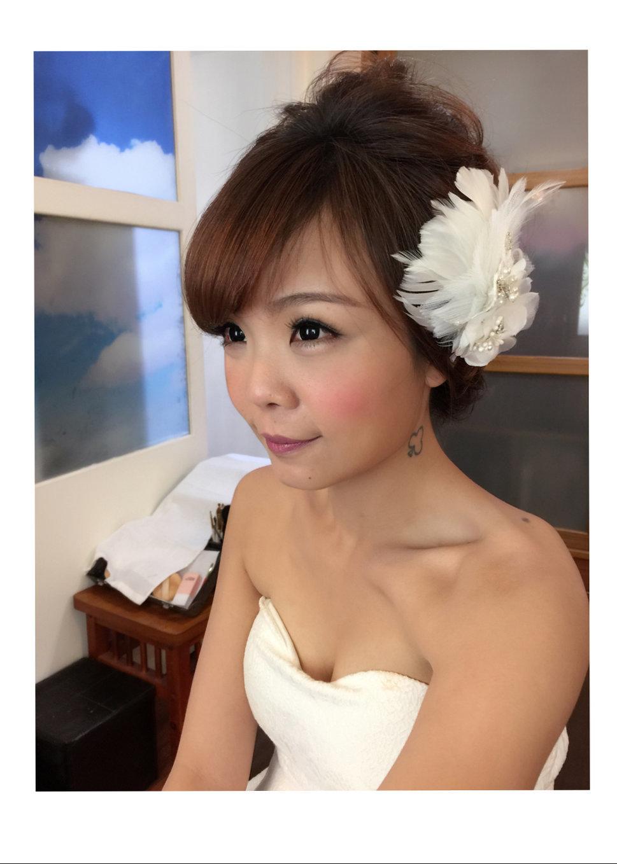 (編號:430694) - 甜溱造型工作室(Sandy 佩如) - 結婚吧一站式婚禮服務平台