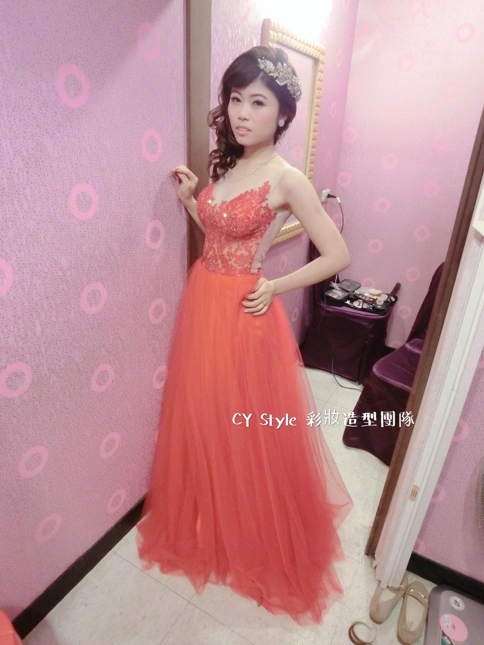 庭靖 訂結婚宴客造型 - CY Style彩妝造型團隊 新娘秘書 - 結婚吧一站式婚禮服務平台