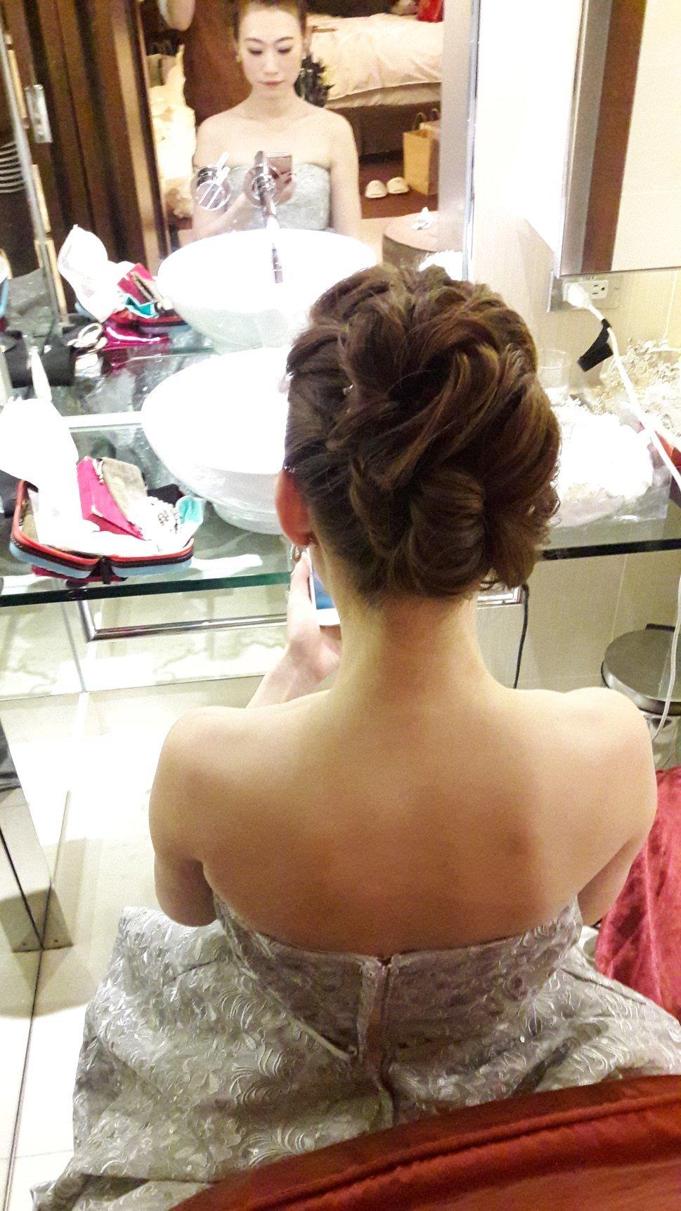 編髮式盤髮(編號:504728) - 新秘Hei di's style - 結婚吧一站式婚禮服務平台