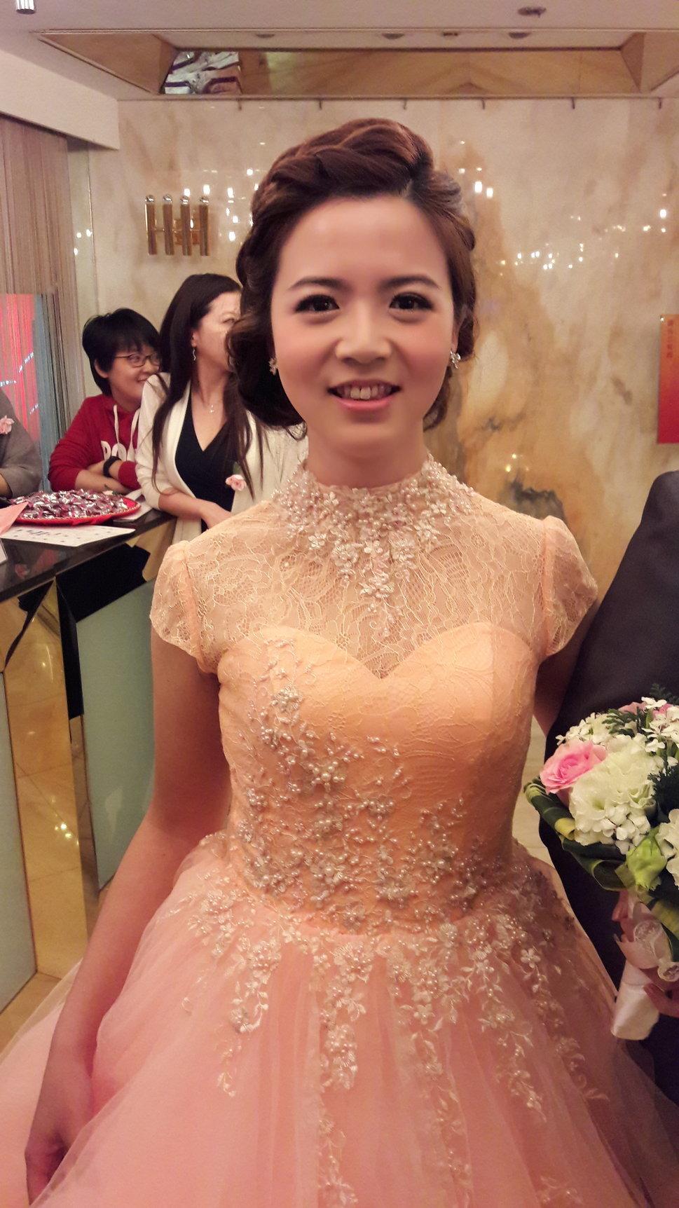 編髮式盤髮(編號:534977) - 新秘Hei di's style - 結婚吧一站式婚禮服務平台