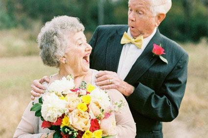 相戀了63年的愛該怎麼慶祝?跨越半個世紀的婚紗攝影