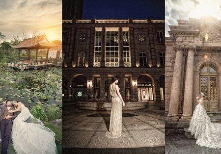 只有自然風景還不夠?婚紗外拍台北7大特色建築婚紗照一次看